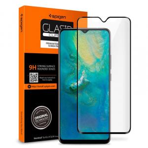 Spigen Glas.tR SLIM, black - OnePlus 6T