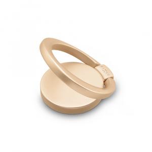 Prstýnek pro mobilní telefony FIXED Loop se stojánkem, zlatý