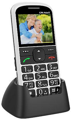 myPhone 1011 SENIOR - CPA Halo 11, bílý