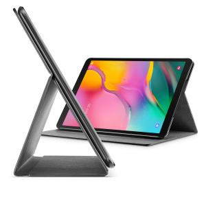 Pouzdro se stojánkem CellularLine FOLIO pro Samsung Galaxy Tab A 10.1 (2019), černé