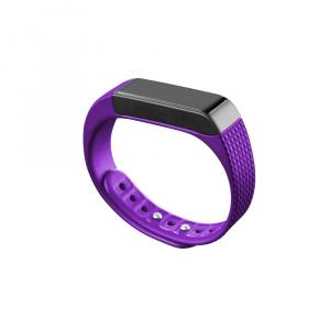 Bluetooth fitness náramek s dotykovým displejem CellularLine EASYFIT TOUCH, fialovo-černý