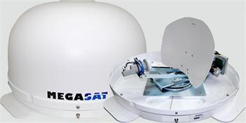 Megasat Shipman GPS/Auto Skew, pr.45cm, LNB Singl, 33dBi