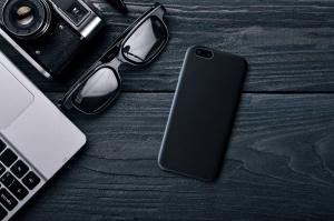 Zadní kryt FIXED Tale pro Samsung Galaxy A7 (2018), PU kůže, černý