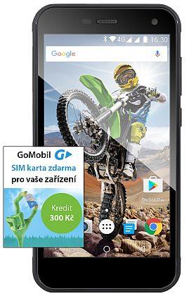 Evolveo SGP-G4-LTE StrongPhone G4 LTE Black - vodotěsný odolný IP68 (dualSIM) Android 7.0