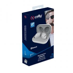 True Wireless sluchátka CELLY Twins Air, bílá