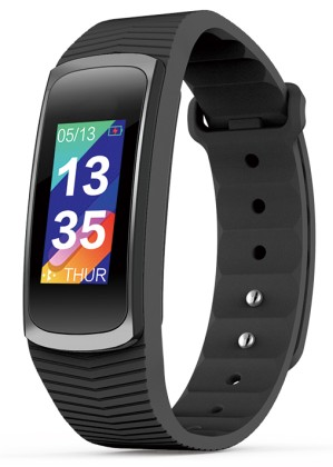 Fitness náramek Evolveo FITBAND B3 Black - HR Bluetooth Smart hodinky
