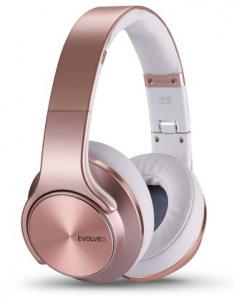 HF Bluetooth Evolveo SupremeSound E9 Pink/růžová, 2v1 sluchátka a reproduktory (BLISTR) bezdrátová