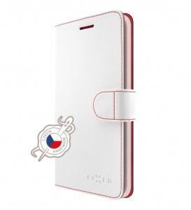 Pouzdro typu kniha FIXED FIT pro Nokia 5.1, bílé