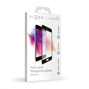 Ochranné tvrzené sklo FIXED Full-Cover pro Honor 8X, přes celý displej, černé, 0.33 mm