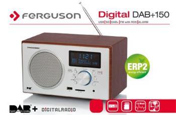 FERGUSON  DAB+ 150 RADIO, USB, RDS, SD
