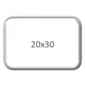 POS - PVC panel 32x20 bílý