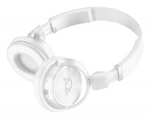 Bluetooth sluchátka CellularLIne Helios, AQL certifikace, bílá