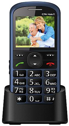 myPhone 1011 SENIOR - CPA Halo 11, modrý