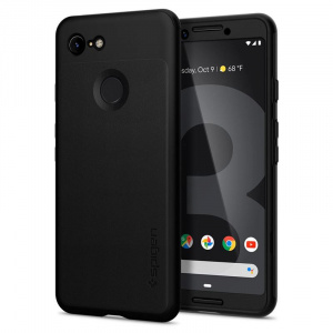 Spigen Thin Fit 360, black - Google Pixel 3