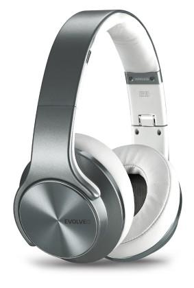HF Bluetooth Evolveo SupremeSound E9 Silver/stříbrná, 2v1 sluchátka a reproduktory (BLISTR) bezdrátováHF Bluetooth Evolv