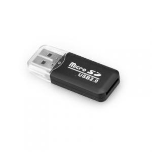 Čtečka paměťových karet Micro SD 2.0 barva černá