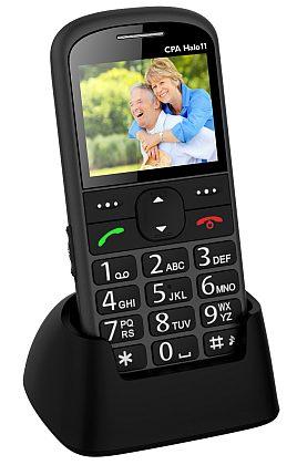 myPhone 1011 SENIOR - CPA Halo 11, šedý