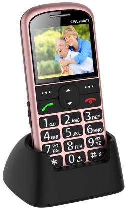 myPhone 1011 SENIOR - CPA Halo 11, růžový