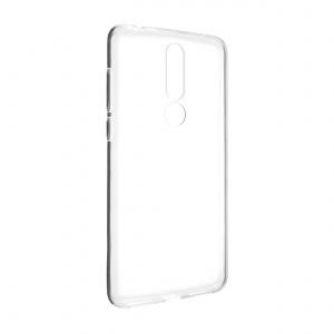 Ultratenké TPU gelové pouzdro FIXED Skin pro Nokia 3.1 Plus, 0,6 mm, čiré