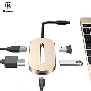 USB-C HUB BASEUS USB-C/3x USB 3.0, 4K HDMI, USB-C