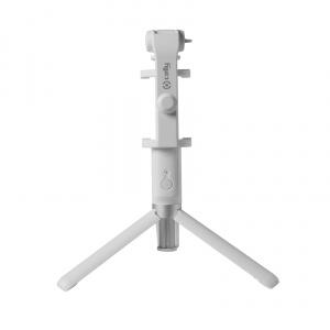 Selfie tyč s Bluetooth ovladačem a stojánkem CELLY Propod, bílá