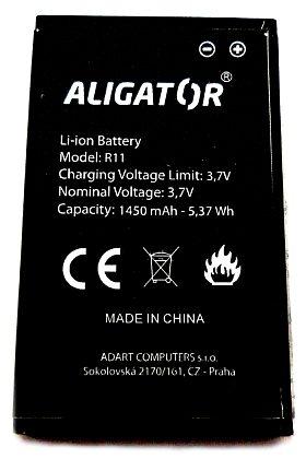 Baterie Aligátor R11 eXtremo 1450 mAh Li-Ion