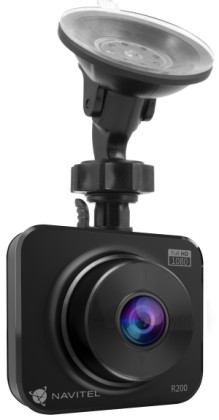 "Kamera Navitel R200 Black - kamera do auta, 2"" FullHD, 140°, G-sen."
