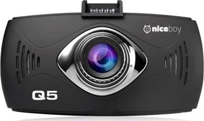 "Kamera Niceboy PILOT Q5 Black - kamera do auta, 2,7"" FullHD, 170°, G-sen."