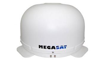 Megasat Campingman, LNB TWIN/ AutoSkew, pr. 45cm, zisk 33dBi