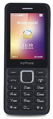 myPhone 6310 Black / černá (dualSIM)
