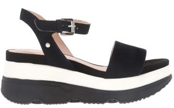 Dámské sandále D Gardenia Black D02HBC-00021-C9999