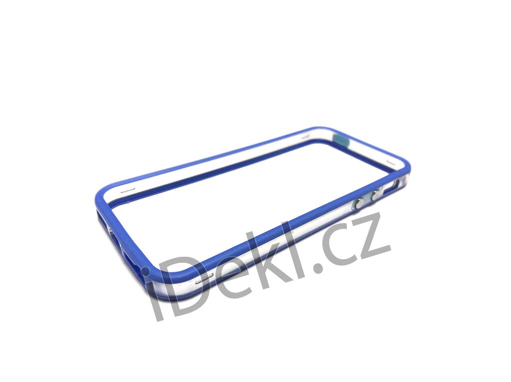 Ochranný plastový rámeček iPhone 5S/SE-modrá