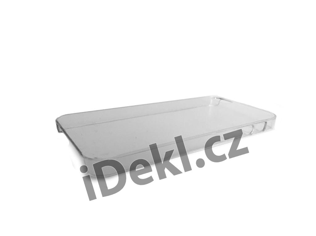 Ochranný plastový kryt iPhone 5S/SE-Čirý