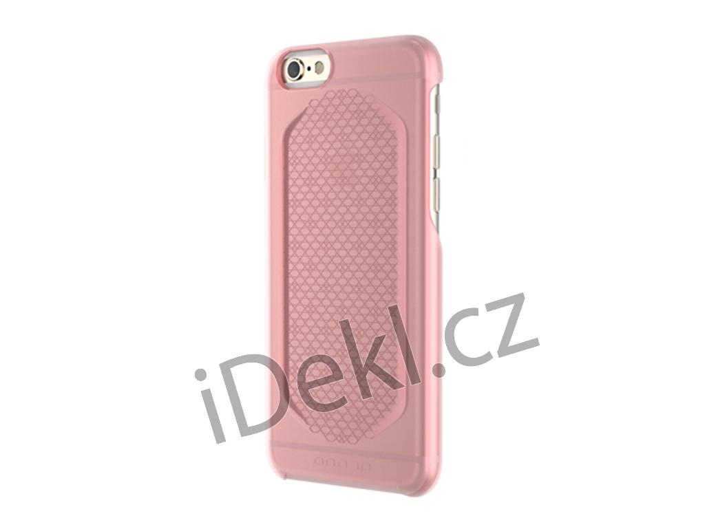 Zadní ochranný plastový kryt pro iPhone 6/6s-růžová