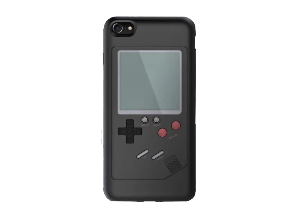 WANLE ochranný kryt s funkčním gameboyem pro iPhone 7/8 - černá