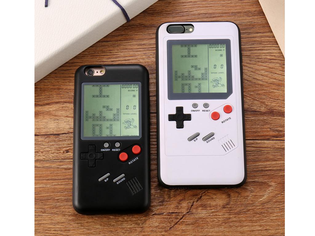 WANLE ochranný kryt s funkčním gameboyem pro iPhone 7/8 plus-černá