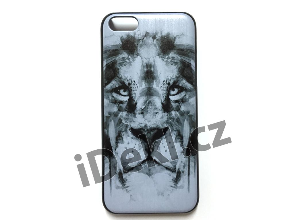 Ochranný plastový kryt iPhone 5S/SE-Lev bílý