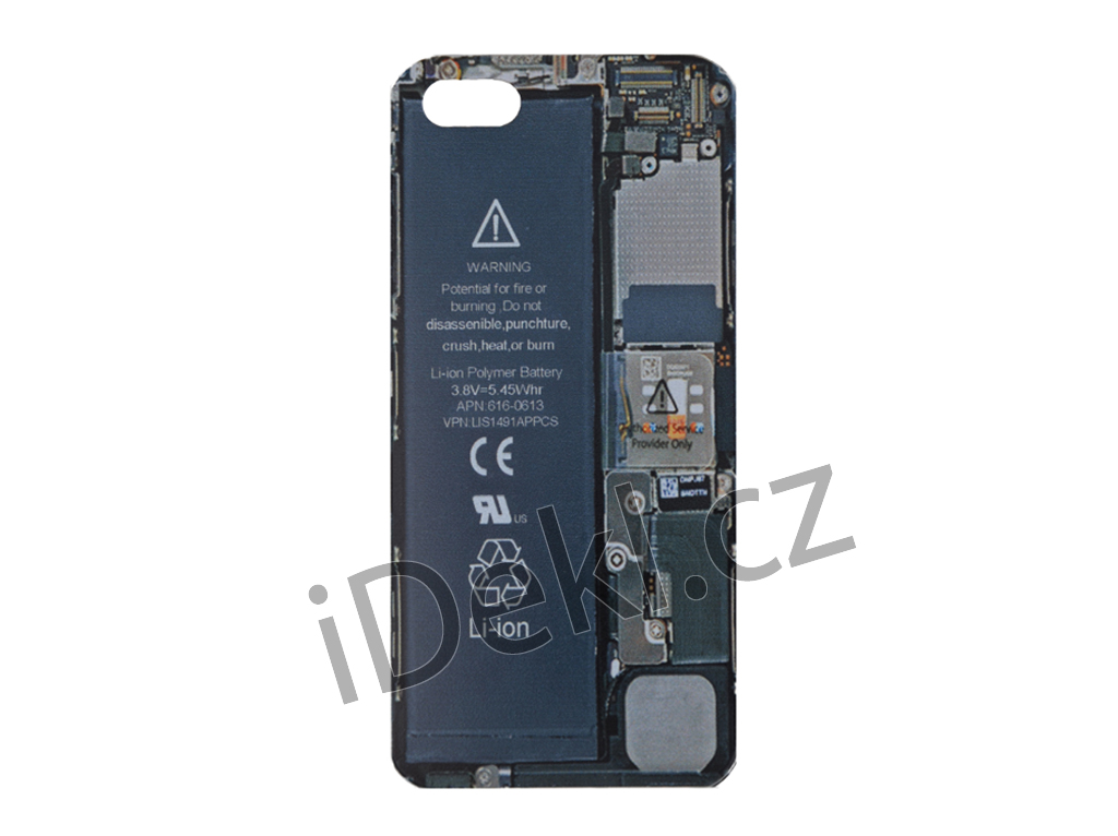 Silikonový kryt iPhone 5S/SE-software