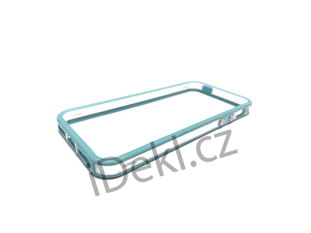 Ochranný plastový rámeček iPhone 5S/SE-světle modrá