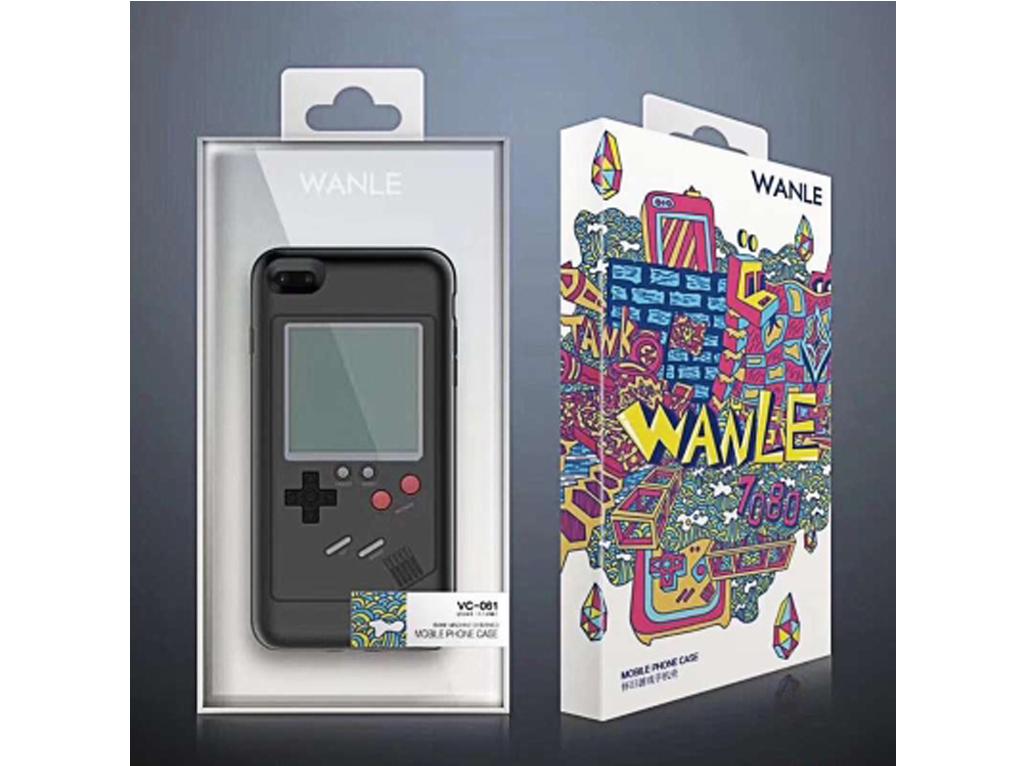 WANLE ochranný kryt s funkčním gameboyem pro iPhone 6 / 6S - černá