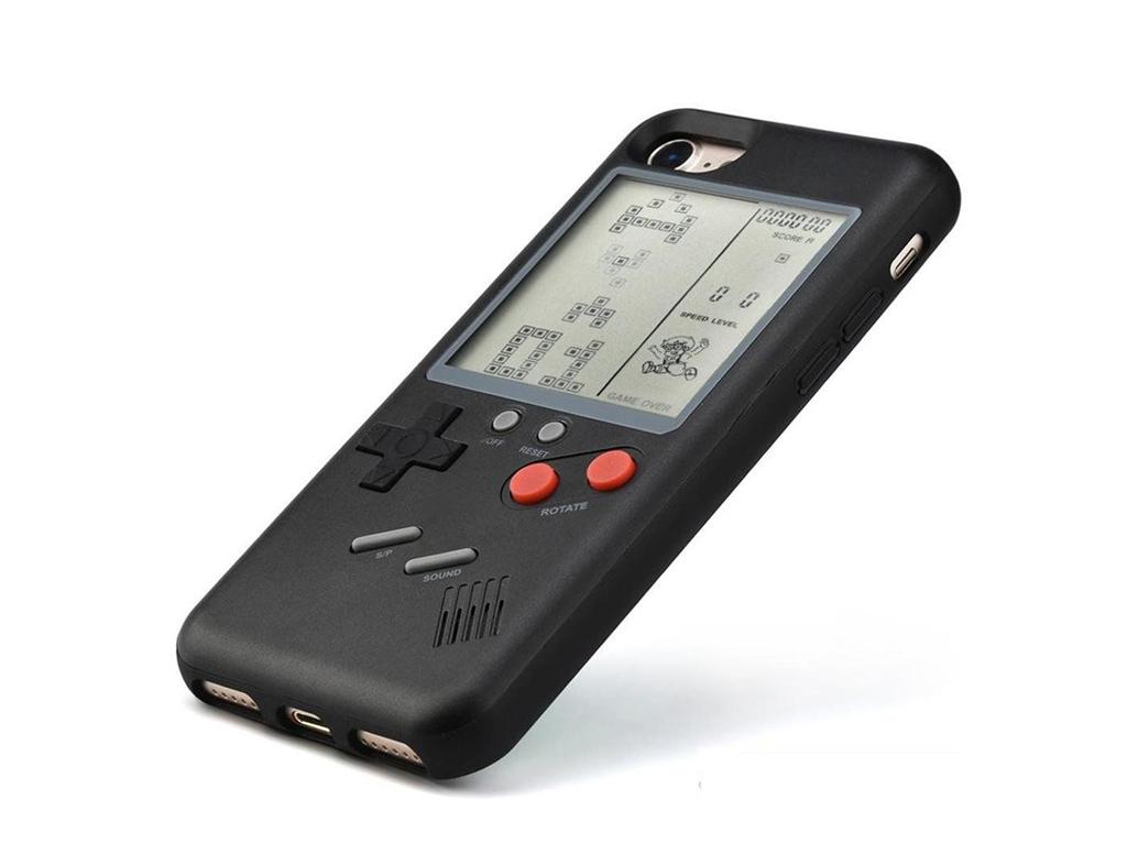 WANLE ochranný kryt s funkčním gameboyem pro iPhone 6plus - černá