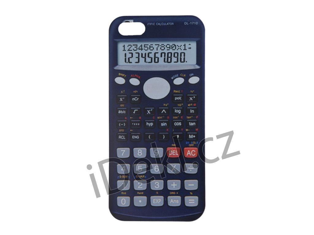 Silikonový kryt iPhone 5S/SE-Kalkulačka