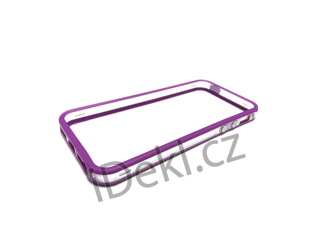 Ochranný plastový rámeček iPhone 5S/SE-Fialová