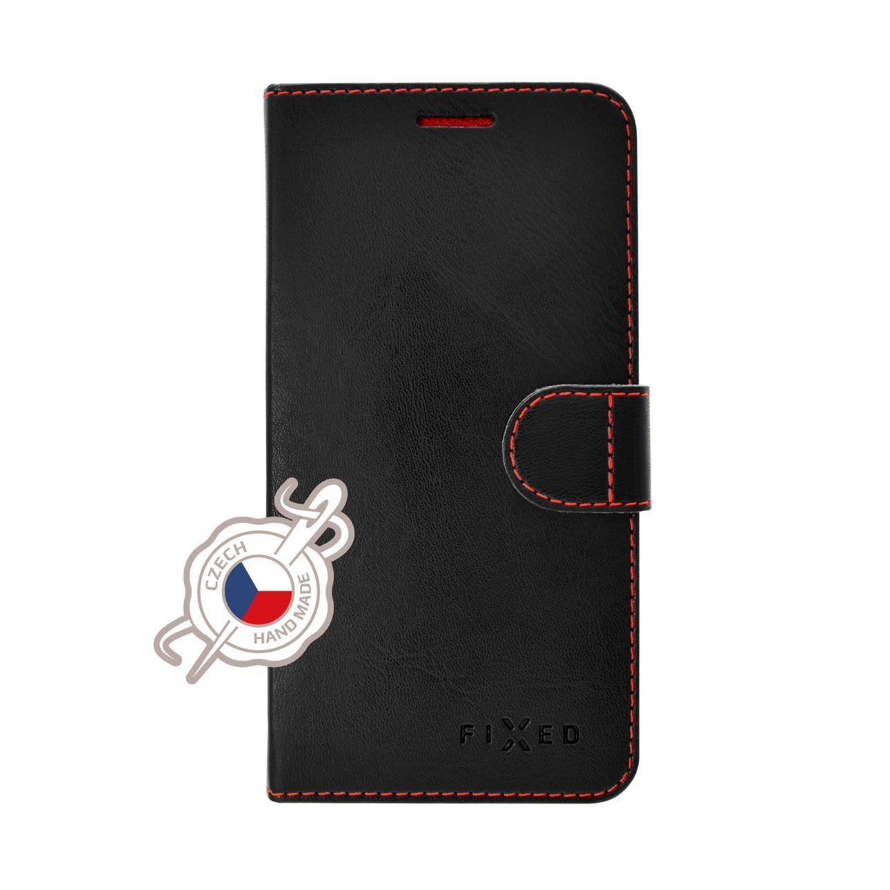 Pouzdro typu kniha FIXED FIT pro Xiaomi Mi A2, černé