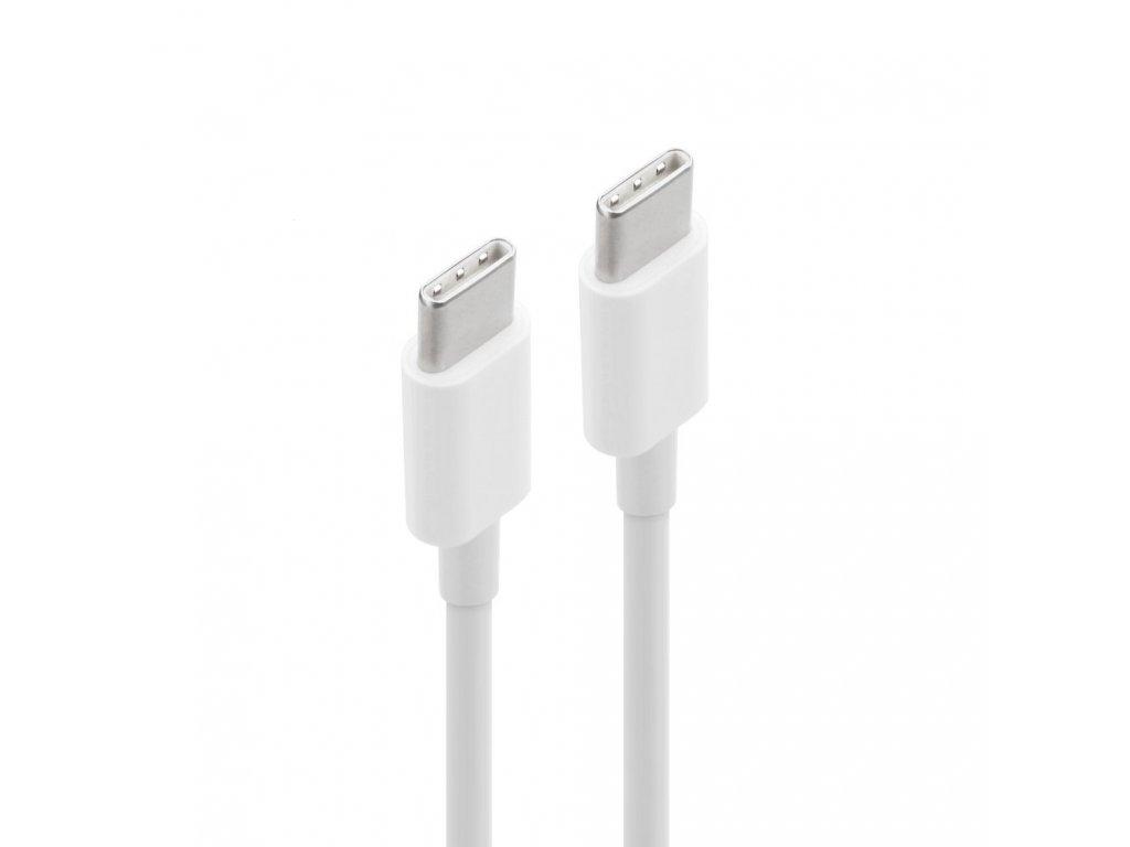 Datový kabel Micro USB Typ- C, barva bílá, 3 metry