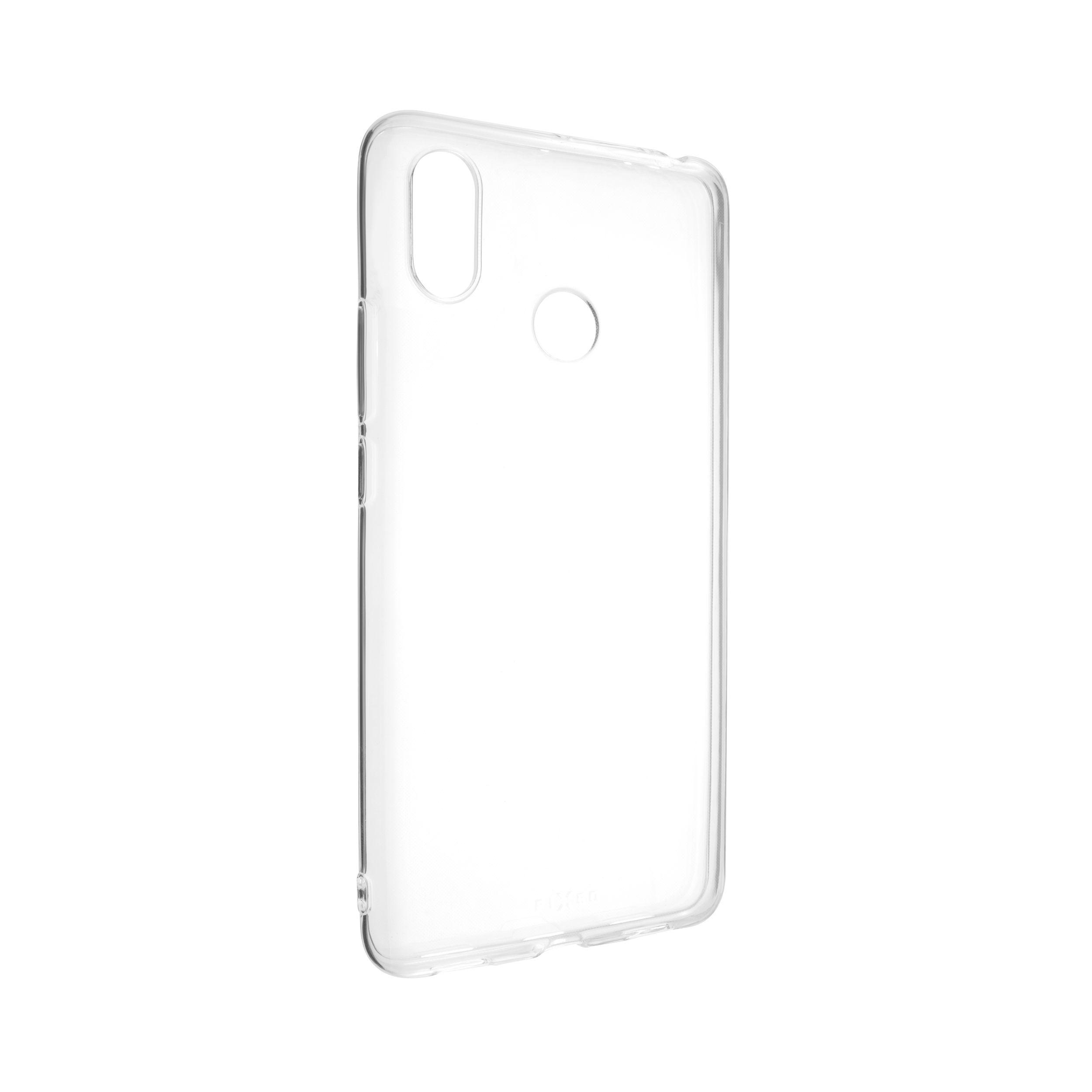 TPU gelové pouzdro FIXED pro Xiaomi Mi Max 3, čiré