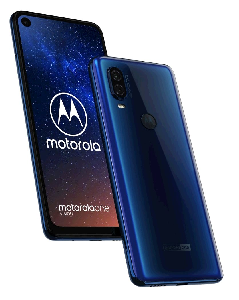 Maketa Motorola Moto One Vision Sapphire Gradient