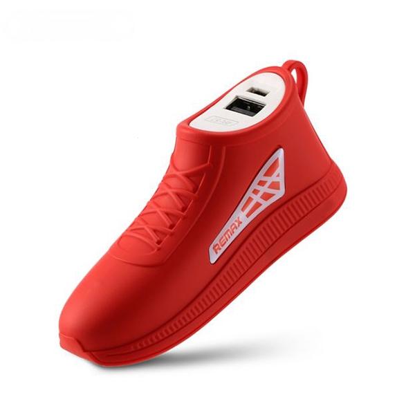 Externí baterie POWER BANK REMAX Running Shoe RPL-57, 2.500mAh červená