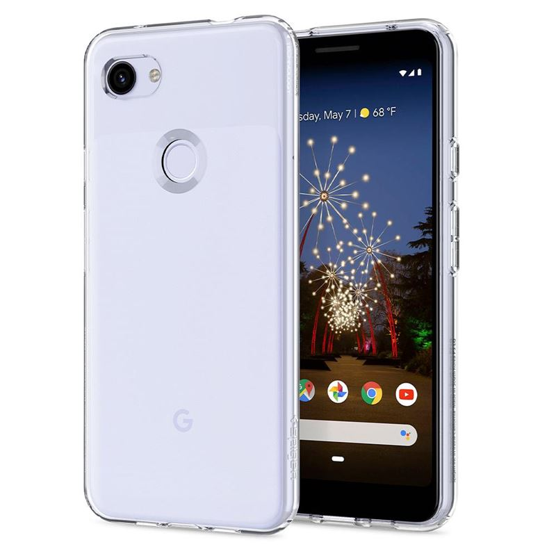 Spigen Liquid Crystal, clear - Google Pixel 3a