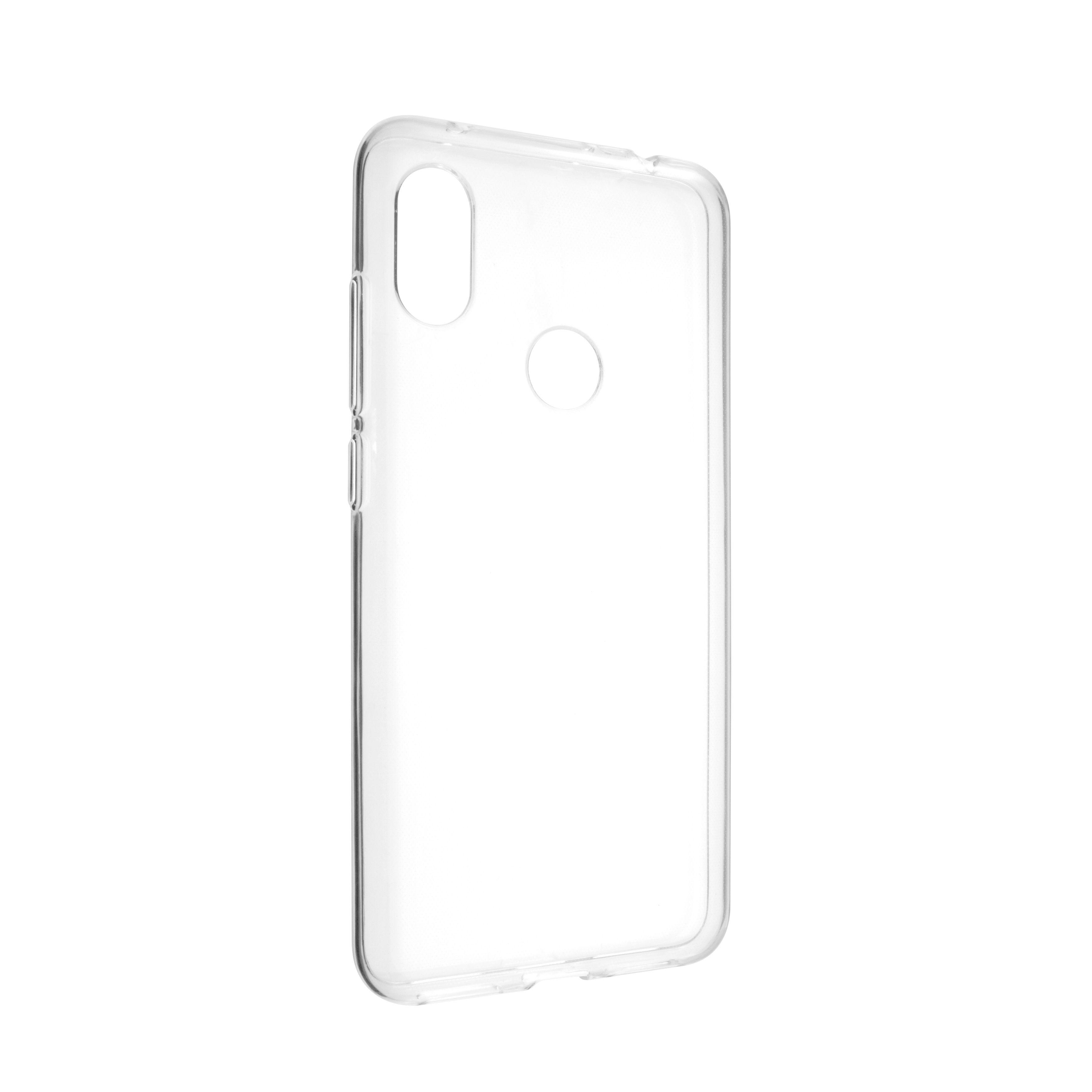 TPU gelové pouzdro FIXED pro Xiaomi Redmi Note 6 Pro, čiré